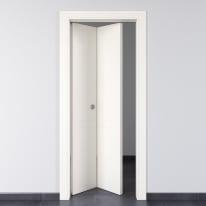 Porta pieghevole Rail bianco L 70 x H 210 cm sinistra