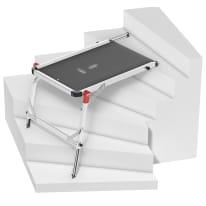 Trabattello HAILO Tp1 in alluminio per lavori fino a 0.93 m