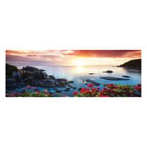 Quadro su tela View on the sea 40x125 cm