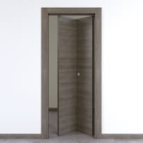 Porta pieghevole Starwood pietra L 80 x H 210 cm destra