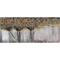 Quadro dipinto a mano Alberi 150x65 cm