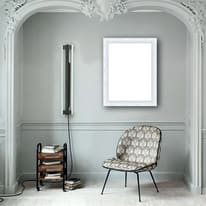 Cornice INSPIRE Sylvia bianco per foto da 40X60 cm