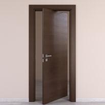 Porta rototraslante Timber fumo L 70 x H 210 cm destra