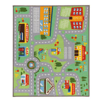 Tappeto Play rug multicolor 120x100 cm