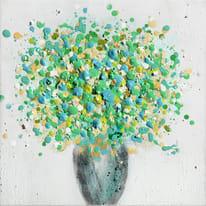 Quadro dipinto a mano Astratto 30x30 cm