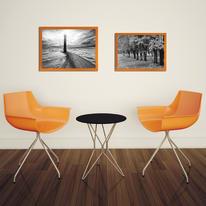 Cornice INSPIRE arancione per foto da 30X40 cm