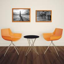 Cornice INSPIRE arancione per foto da 50X70 cm