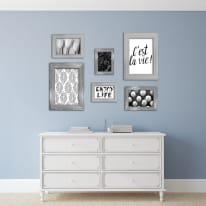 Cornice LOUISE bianco per foto da 40x60 cm