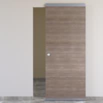 Porta scorrevole con binario esterno Stylish Easy in legno Binario nascosto L 91 x H 221 cm