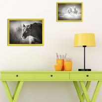 Cornice INSPIRE grigio per foto da 50X70 cm