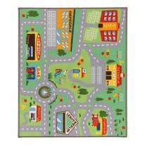 Tappeto antiscivolo Play rug multicolor 200x133 cm