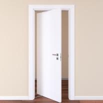 Porta rototraslante Plaza frassino bianco L 80 x H 210 cm sinistra