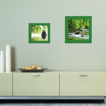 Cornice INSPIRE Easy verde per foto da 30X30 cm