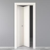 Porta pieghevole Moma bianco L 80 x H 210 cm sinistra