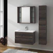 Mobile bagno Kora marrone L 81 cm