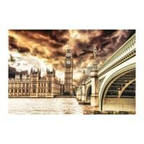 Quadro su tela London atmosphere 85x135 cm