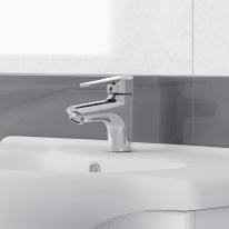 Mobile bagno Paola bianco L 85 cm