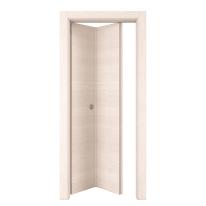 Porta pieghevole Lucad grano L 80 x H 210 cm sinistra