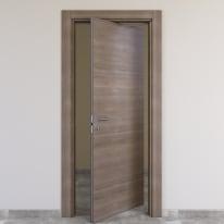 Porta rototraslante Stylish grigio chiaro L 70 x H 210 cm destra