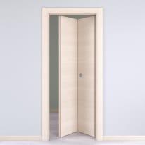 Porta pieghevole Lucad grano L 70 x H 210 cm destra