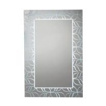 Specchio con illuminazione integrata bagno rettangolare Soft L 60 x H 90 cm
