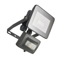 Proiettore LED integrato con sensore di movimento in alluminio, antracite, 10W IP44 INSPIRE