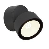Applique a soffitto Pando LED integrato in alluminio, grigio, 9.5W IP54 INSPIRE