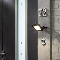 Proiettore LED integrato in alluminio, acciaio, 10W IP65 INSPIRE