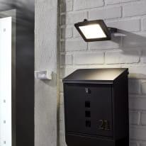 Proiettore LED integrato Yonkers in alluminio, nero, 30W 1950LM IP65 INSPIRE