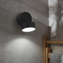 Applique Pando LED integrato in alluminio, grigio, 11W 100LM IP54 INSPIRE