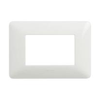 Placca BTICINO Matix 3 moduli bianco