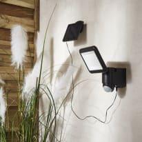 Proiettore solare Melo LED integrato argento 9W 850LM IP54 INSPIRE