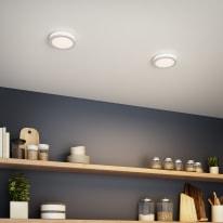 Faretto fisso da incasso tondo Albina in alluminio, bianco, diam. 8 cm LED integrato 6W 800LM IP20 INSPIRE