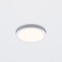 Faretto fisso da incasso tondo Manoa in metallo, bianco, diam. 12.28 cm LED integrato 9W 1000LM IP44 INSPIRE