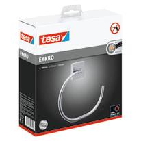 Porta salviette ad anello Ekkro cromo cromo lucido L 19.5 cm