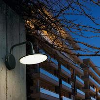 Applique Focus LED integrato in alluminio, nero, 18W 1400LM IP54