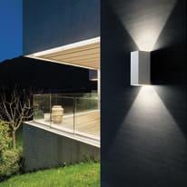 Plafoniera Tower LED integrato in alluminio, bianco, 12W 700LM IP54