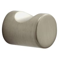 Pomolo per mobile in zama grigio / argento spazzolato