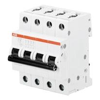 Interruttore magnetotermico ABB S204-C32 4 moduli