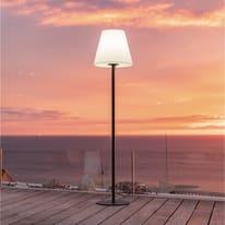 Lampada da terra STANDY W150 H150cm, in plastica, E27 850LM