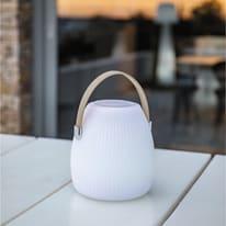 Lampada da tavolo MINI MAY PLAY H19cm, in plastica, LED integrato IP44