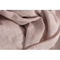 Tenda di pizzo NAUSICA rosa occhielli 138x280 cm