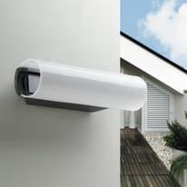 Applique Tunnel LED integrato in alluminio, nero, 12W 800LM IP44