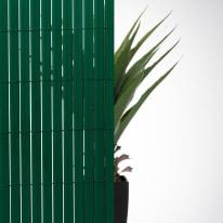 Canniccio doppia vista pvc NATERIAL verde L 5 x H 1.5 m