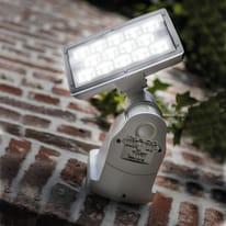 Applique Peri LED integrato in policarbonato, grigio, 20W 1710LM IP54 LUTEC