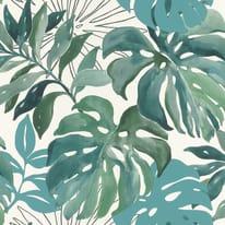 Carta da parati Botanical verde