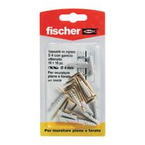 Tassello per materiale forato FISCHER S4G L 20 mm x Ø 4 mm 10 pezzi
