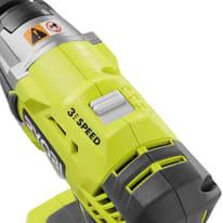 Avvitatore a impulsi a batteria RYOBI R18IW3-120S , 18 V, 2 Ah, 1 batteria batterie
