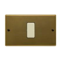 Placca FEB Laser 1 modulo bronzo compatibile con magic