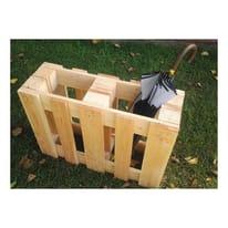 Pallet in legno grezzo 80 x 60 cm